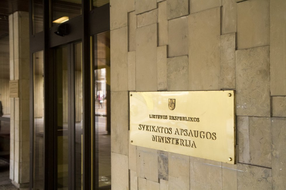 Sveikatos apsaugos ministerija (nuotr. Tv3.lt/Ruslano Kondratjevo)