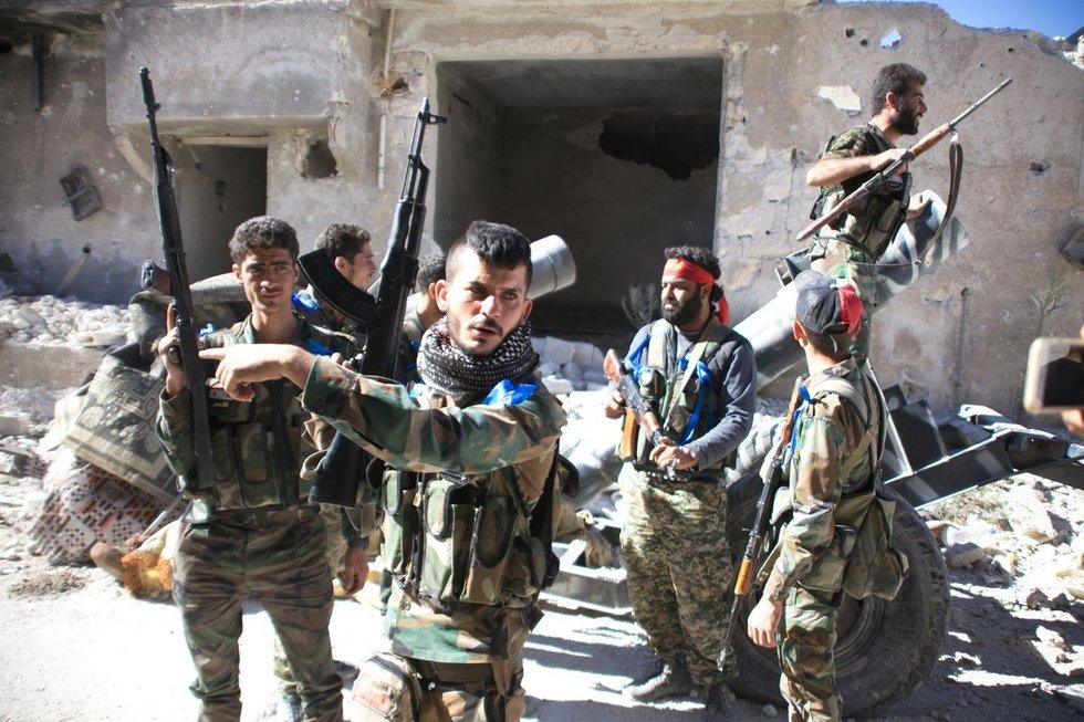 Alepo mieste – tikras pragaras (nuotr. SCANPIX)