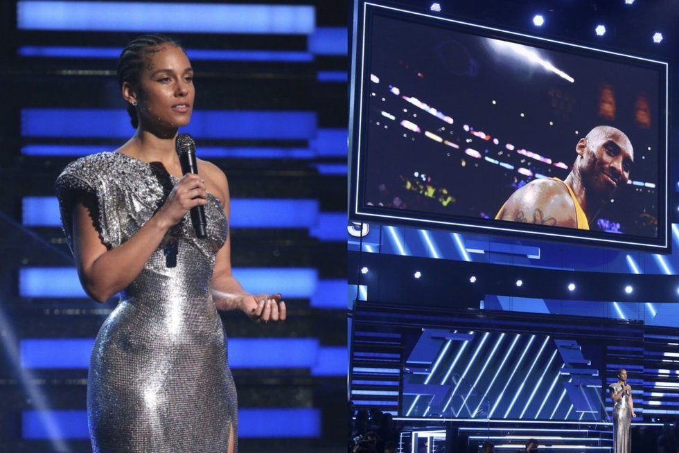 "Alicia Keys ""Grammy"" apdovanojimuose  (nuotr. SCANPIX)"