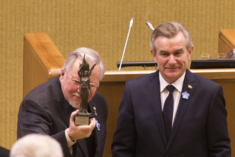 V.Landsbergis: tautų elitai pratinami prie minties, kad mažas branduolinis karas yra leistinas (nuotr. Fotodiena.lt)