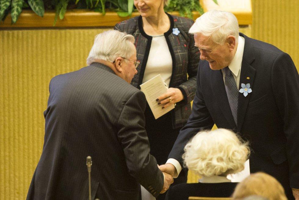Iškilmingas laisvės gynėjų dienos minėjimas Seime (nuotr. Fotodiena.lt)