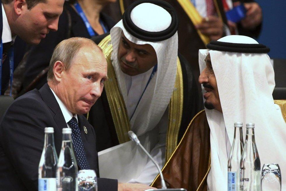 Rusija ir Saudo Arabija: požiūris skiriasi į viską, išskyrus naftą (nuotr. SCANPIX)