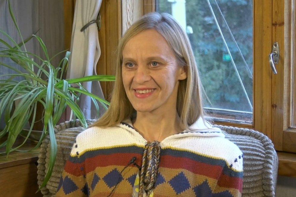 Eglė Kručinskienė (nuotr. stop kadras)