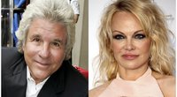 Jon Peters ir Pamela Anderson (nuotr. SCANPIX)