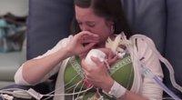 Išvydusį gimusį kūdikį motina neteko sąmonės: sujaudins iki širdies gelmių (nuotr. YouTube)