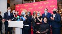 Laisvės partija – antras Seimo rinkimų turas (Katažyna Polubinska nuotr.)