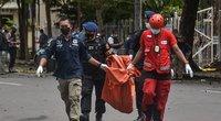 Indonezijoje per sprogimą prie bažnyčios sužeisti mažiausiai 10 žmonių  (nuotr. SCANPIX)