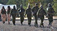 Lietuvos kariuomenės inžinieriai kartu su NATO sąjungininkais (nuotr. eil. Mantauto Patašiaus)