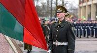 Iškilminga trijų Baltijos valstybių vėliavų pakėlimo ceremonija Nepriklausomybės aikštėje  (nuotr. Fotodiena.lt)