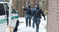 Vilniuje iš 16 daugiabučio aukšto iškrito ir žuvo vyras (nuotr. Broniaus Jablonsko)