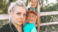 """Blogerė atsikirto """"mamų gėdintojams"""", kurie ją kritikavo už tai, kad vaikus palieka seneliams (nuotr. Instagram)"""