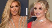 Paris Hilton ir Britney Spears (nuotr. SCANPIX) tv3.lt fotomontažas