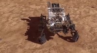 NASA marsaeigis ruošiasi nusileidimui Raudonojoje planetoje (nuotr. stop kadras)