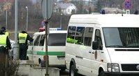 Seni policijos automobiliai (nuotr. Fotodiena.lt)