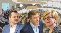 G. Paluckas, R. Karbauskis ir I. Šimonytė (tv3.lt fotomontažas)