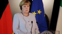 Angelos Merkel partija patyrė žeminantį pralaimėjimą Vokietijoje (nuotr. SCANPIX)
