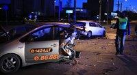 Tragiška avarija Pilaitės ir Laisvės pr. sankryžoje (nuotr. Broniaus Jablonsko)