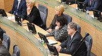 Prezidentė Seimui teikia S. Skvernelio kandidatūrą  (nuotr. Fotodiena.lt)