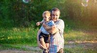 Atskleidė žmonių požiūrį į vyrus: jeigu pilnesnis – geresnis tėvas? (nuotr. shutterstock.com)