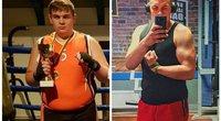 Dvidešimtmetis Giedrius atsikratė 55 kilogramų: atskleidė savo sėkmės paslaptį (nuotr. asm. archyvo)