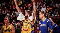 Švedai įveikė turkus (nuotr. FIBA)