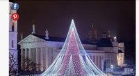 Vilniaus Kalėdos ir eglutė – užsienio žiniasklaidos dėmesio centre
