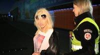 Vilniuje siautėjo girta vairuotoja, ji važinėjo su mažamete dukra nuotr. Broniaus Jablonsko