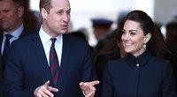 Princas Williamasir jo žmona Kate (nuotr. SCANPIX)
