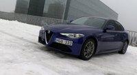 Alfa Romeo Giulia (nuotr. stop kadras)