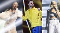 """""""Eurovizijos"""" dalyviai (tv3.lt fotomontažas)"""