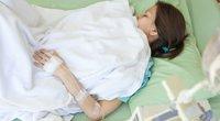 Asociatyvi nuotrauka, moteris ligoninėje.  (nuotr. 123rf.com)