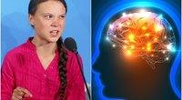 Greta Thunberg pripažino turinti Aspergerio sindromą (nuotr. Scanpix, 123rf.com)