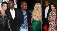 Kim Kardashian ir Kanye West (tv3.lt fotomontažas)