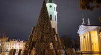 Vilnius Naujuosius sutiks namuose: miesto aikštėse užges eglės, nebus fejerverkų (nuotr. Sauliaus Žiūros)