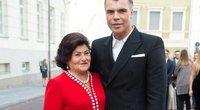Juozas Statkevičius su mama (Fotobankas)
