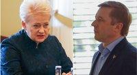 Dalia Grybauskaitė ir Ramūnas Karbauskis  (nuotr. Fotodiena.lt)
