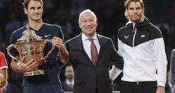 Šveicarų teniso maestro Rogeris Federeris triumfavo gimtajame Bazelio teniso turnyre