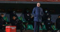"""Pagyras žaidėjams žarstęs Urbonas išpeikė LFF stadioną: """"Tai mūsų visų gėda"""""""