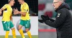 Penki atsakymai: Lietuvos futbolo rinktinė pradeda taškų medžioklę Europoje