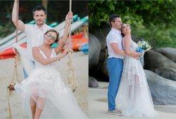 Žemaitė su vyru paminėjo santuokos metines: prabilo apie kitą Andriaus pusę