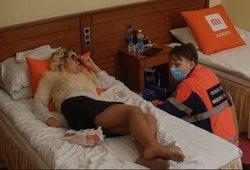 Linksmybės peržengė ribas: Miai teko pabuvoti ligoninėje