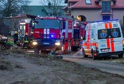 Tragiško gaisro Anykščių rajone detalės: žuvo keturi žmonės, trys iš jų – mažamečiai