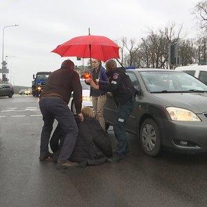 Vilniuje jauna vairuotoja partrenkė pėsčiąją