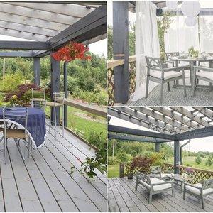 Kaip atsinaujinti terasą ar balkoną šiltajam sezonui? Viskas, ką reikia žinoti