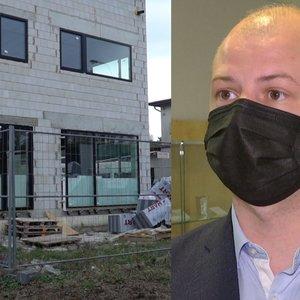 Nelaimė statant Gentvilo namą: aiškėja detalės, kaip buvo sužaloti statybininkai