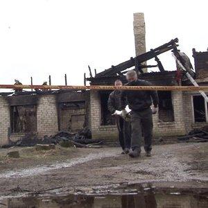 Tragiškas gaisras Anykščių rajone: sukrėsti artimieji pasakoja, kaip viskas įvyko