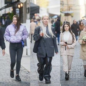 Gatvės mados: pamatykite, stilingus drabužių derinius