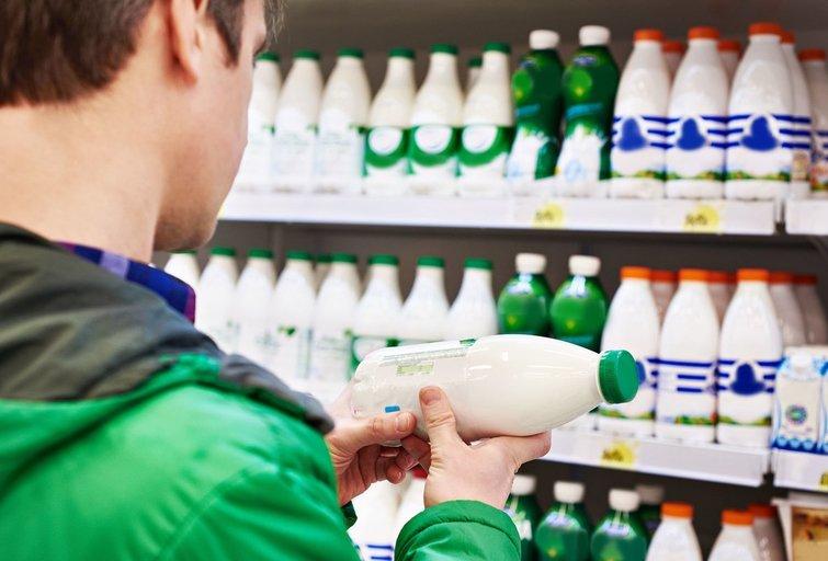 Pieno produktai (nuotr. 123rf.com)