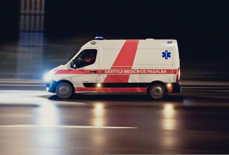 Greitoji medicinos pagalba (nuotr. Fotodiena.lt/Karolio Kavolėlio)