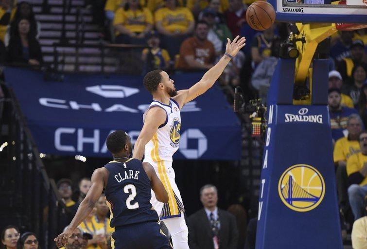 """Golden State Warriors"" – Naujojo Orleano ""Pelicans"" 113:104 (nuotr. SCANPIX)"